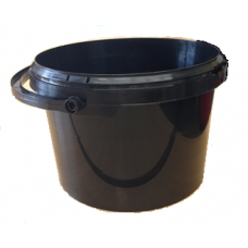 ROUND TAPERED BUCKET 3L BLACK 701 PJET